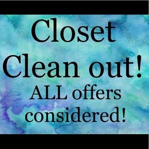 Accessories - CLOSET CLEAN OUT! All offers considered!